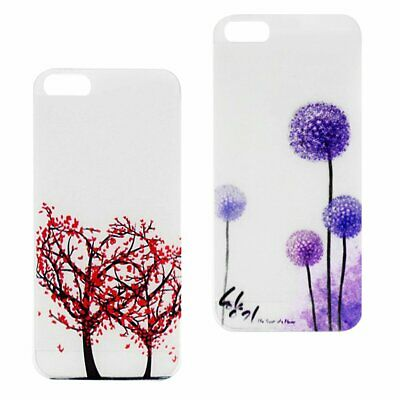 Luminous Case for iPhone Tree Flowers Bling Cover Protective Phone Shell SH