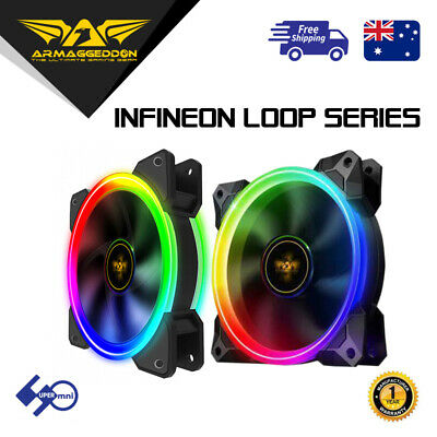 RGB Case Cooler Fan Armaggeddon Infineon Loop (Must Use Armaggeddon Controller)
