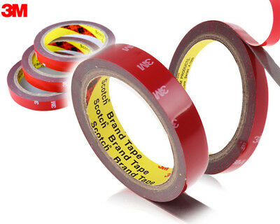 4,30 €/ M 3M Double Sided Adhesive Tape Extremely Strong Thick 1,5mm - 20mm x 3M