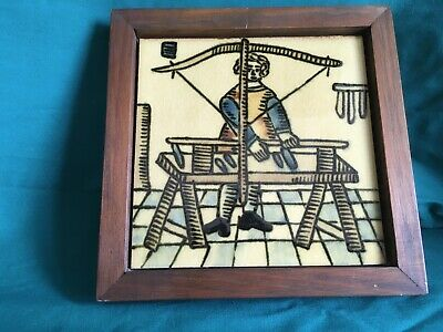 Vintage Framed Tile