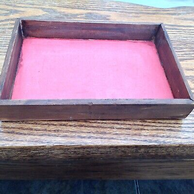 ANTIQUE VICTORIAN JEWELLERY/TRINKET BOX Interior Tray RESTORATION & SPARES ETC.