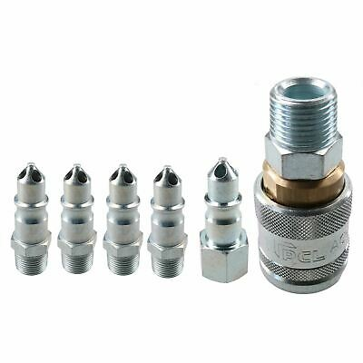 """PCL 100 Series Female Coupler 1/2"""" BSP Male Thread & 3/8"""" Male Adaptors Fittings"""