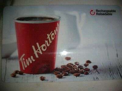 Collectable Tim Hortons Coffee Cup Gift Card #Fd51770..No Monatary Value