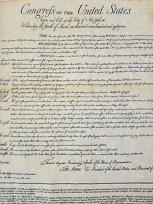 Bill Of Rights 200 Anniversary Philip Morris Companies National Archives 15x13