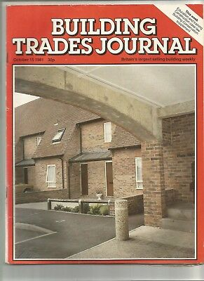 Building Trades Journal - various issues between 1981-1985