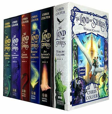 Chris Colfer The Land of Stories 6 Books Complete Collection Box Set