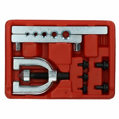 """Brake Pipe Flaring Tool for Single Double Flare Flares 3/16"""" - 1/2"""" Pipe 5 Sizes"""