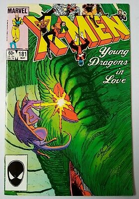 Uncanny X-Men #181, FN+, Chris Claremont, John Romita Jr, Marvel Comics, 1984.