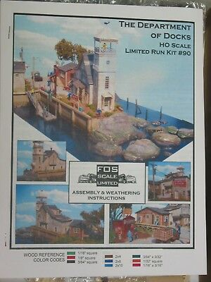 FOS SCALE EXECUTION Rocks Limited Run Craftsman Kit Ho Scale