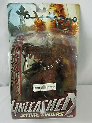 Star Wars Unleashed Chewbacca 2004 Hasbro New Sealed Original Package