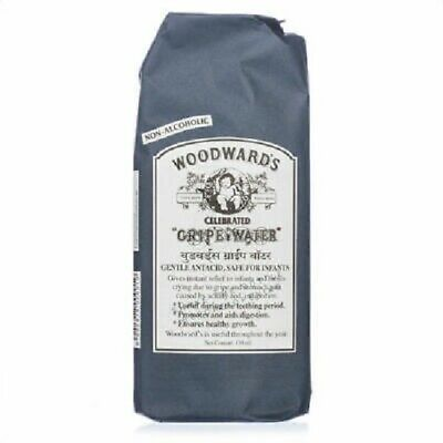 Woodward's Gripe Water Solution - Gastric & Stomach Problems Of Babies (130 ml)