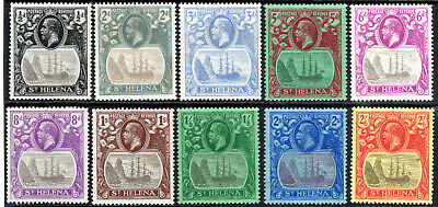 St Helena collection mmint -nice lot KGV 1922-37 [S905]