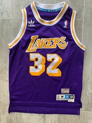 37d83ee4681 Los Angeles Lakers Adidas 1979-1980 Magic Johnson  32 Hardwood Classic  Jersey M