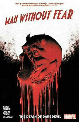 Man Without Fear: Death of Daredevil by Jed Mackay Paperback Book Free Shipping!