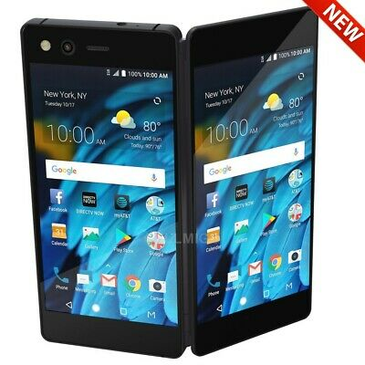 "ZTE Axon M Z999 (64GB,4GB) 5.2"" Dual Fold Screen, 4G LTE GSM AT&T Unlocked Phone"