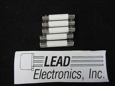 MDA 2.5A Slow-Blow Ceramic Fuse 250v 2-1//2 MDA2.5 10 Qty
