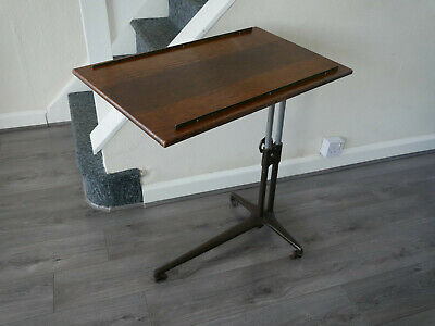 Antique Carters London Furniture Invalid Reading Table Music Book Stand Lectern