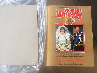 Women's Weekly 1981 Royal Wedding Mint Benson & Hedges