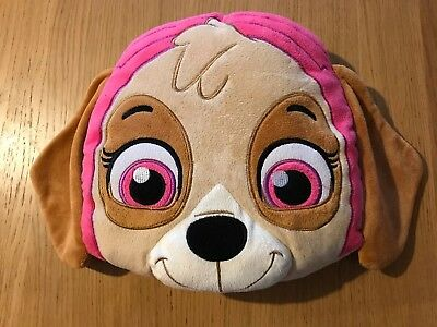 Official Paw Patrol Mighty Movie Pups Skye Shaped Novelty Cushion Pink - BNWOT