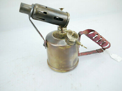 Paraffin Blow Lamp British Monitor No 24 A Vintage Blowlamp Collectibile Tools
