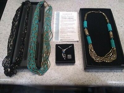 PUBLISHERS CLEARING HOUSE PCH Lot 4 Bohemian Style Necklaces
