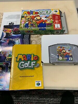 Mario Golf - Nintendo 64 N64 AUS PAL Game - Boxed & Complete Like New