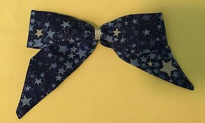Blue Star Sparkle Sailor Hair Bow,girls Kids, Baby, Child,thin Style
