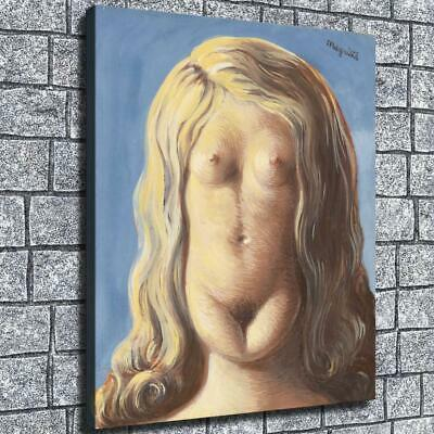 """12""""x14""""Face is naked girl HD Canvas Print Paintings Home Decor Wall Art Picture"""
