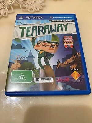 Ps Vita Tearaway Playstion Vita Game