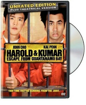 Harold and Kumar Escape from Guantanamo Bay (Unrated Edition) - DVD