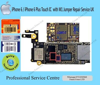 iPhone 6 iPhone 6 Plus Touch IC with M1 Jumper Repair Service UK