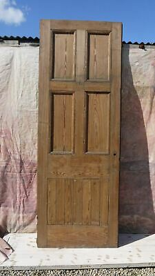 XXL26 (37 x 101) Extra Large Old Reclaimed Period External Pitch Pine Door
