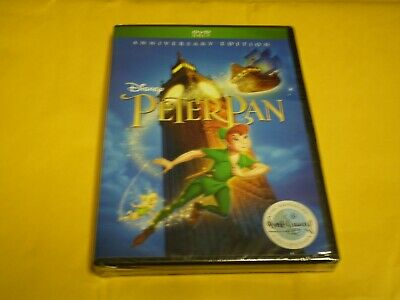 Peter Pan  (DVD, 2018)    Anniversary Edition  Disney Signature Collection   NEW