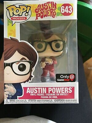 Aufsteller & Figuren Movies #643 Figur Funko Austin Powers Red Suit Mike Myers Spy Spion Pop
