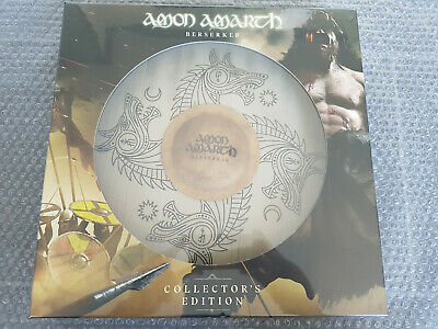 AMON AMARTH: Berserker DIE HARD Box with Digi-CD, Shield & Patch Death Maiden