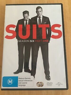 Suits: Season Six, Part One [DVD], Very Good DVD, Meghan Markle Box Set REG 2 4