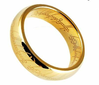 Lord of the Rings 'The One Ring' Gold