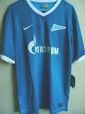1e50cd636daee AUTHENTIC NIKE ST. Petersburg Zenit Soccer Jersey DRI-FIT Football ...