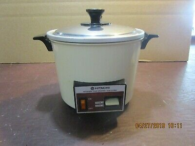 Hitachi Automatic Food Steamer/ Rice Cooker, Model# 578N/Rd4053