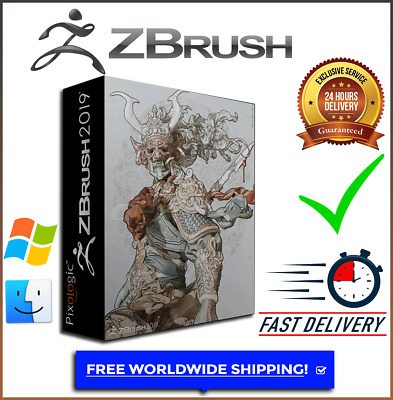 ZBrush 3D 2019 digital sculpting Latest Version for Windows & Mac Fast Delivery