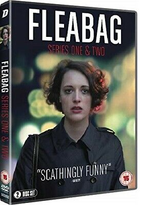 FLEABAG 1+2 2016+2019: BBC Original Comedy - TV Season Series NEW R2 DVD not US