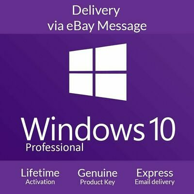Microsoft Windows 10 Pro 32/64-bit Activation Genuine Product Key