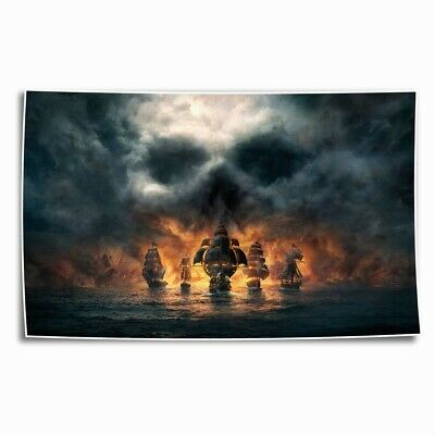 Skull and Bones Poster HD Canvas Print Painting Home Decor room Wall Art Picture