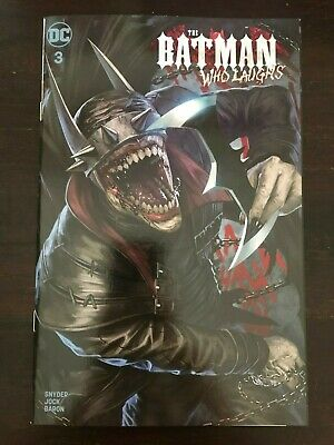 Batman who Laughs #3 Skan Trade Cover NM 9.4 DC 2019