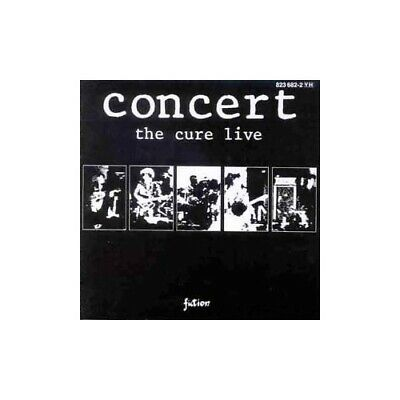 The Cure - Concert - The Cure Live - The Cure CD XSVG The Cheap Fast Free Post