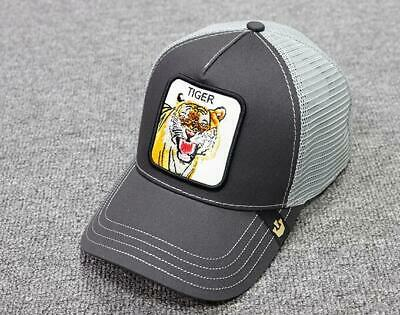 2ee5aa5675868 GOORIN BROS TRUCKER Hat Snapback Cap ANIMAL FARM TIGER-GREY Gallo Beaver
