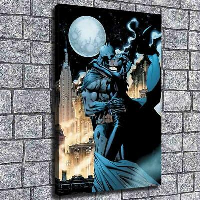 "12""x20""Catwoman kiss batman HD Canvas Print Painting Home Decor Wall Art Picture"
