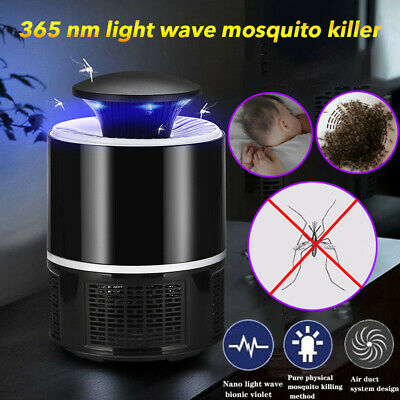 Electric Fly Killer USB  killer Bug Zapper 360 Degrees LED Trap Lamp HL
