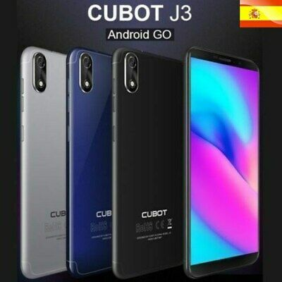 "5"" FHD+ Cubot J3 Android 8.1 16GB Quad Core 2xSIM 3G Móvil FACE ID HOT SALE AZUL"
