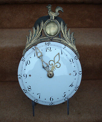 Unusual Later 18Thc French Iron Framed Rack Strike & Repeating Lantern Clock #1